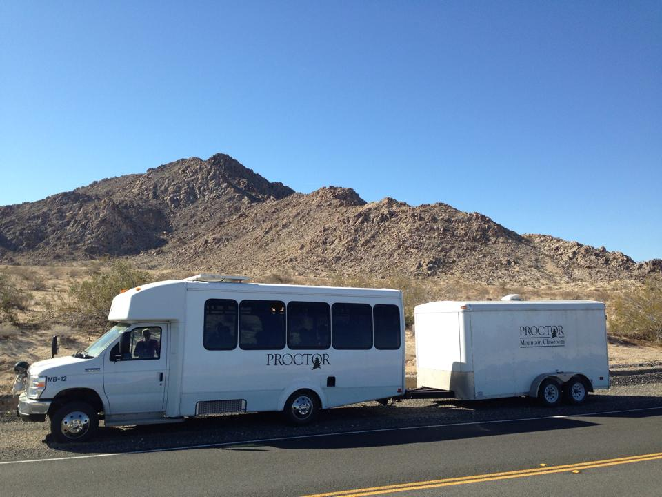 The Mountain Classroom Bus.