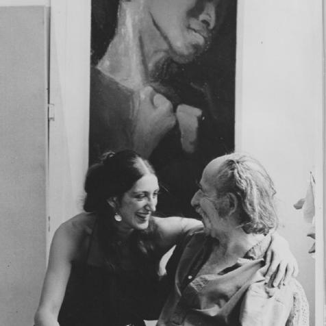 Tonia and Symeon Shimin. Photo Courtesy of Tonia Shimin
