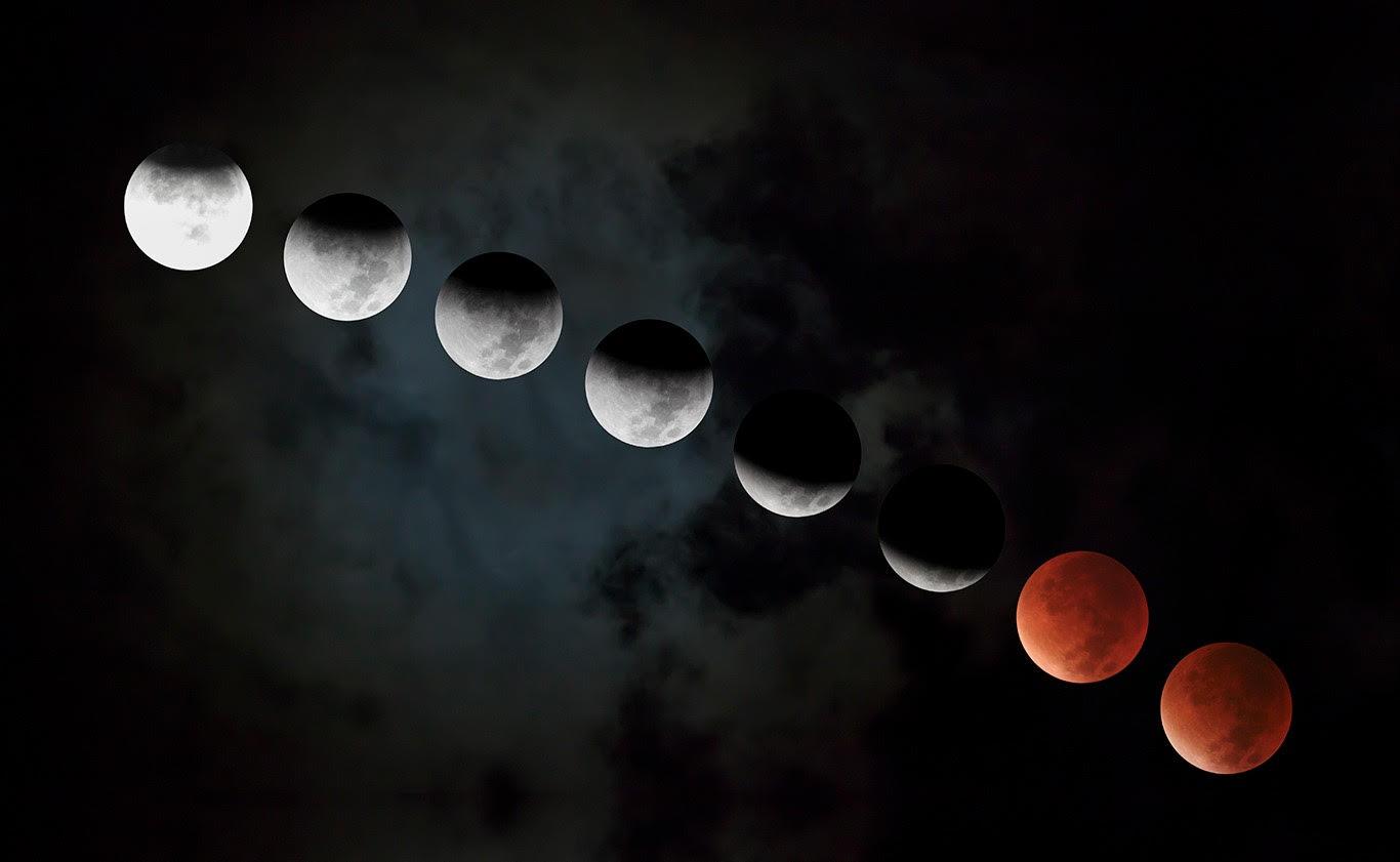 Photograph taken by Elite Henson,  Blood Moon