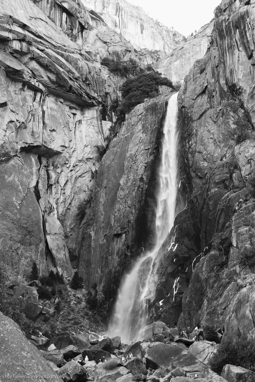 Photograph taken by Elite Henson,  Yosemite Waterfall