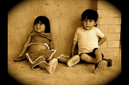 Photograph taken by Elite Henson,  Bolivian Kids