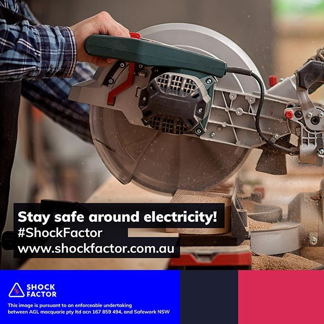 Getting crafty this weekend? You might want to think twice. Electrical safety is no joke. #ElectricalSafety #ShockFactor