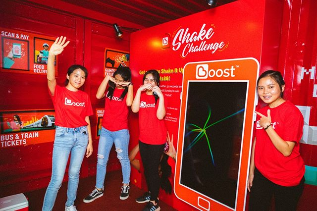 Thank you Boost for keeping Artbox Malaysia boosted!😜