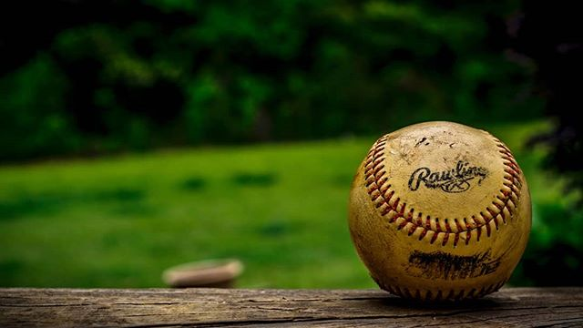 """Baseball goals are attained not by strength but by perseverance."" -Felicity Luckey @pitchrxapp Photo by Joey Kyber"