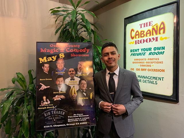 Fun night last night at @theribtrader performing alongside other great magicians. :) #magic #show #magicshow #restaurant #entertainment #magician #mentalist #entertainer #poster #eventplanner