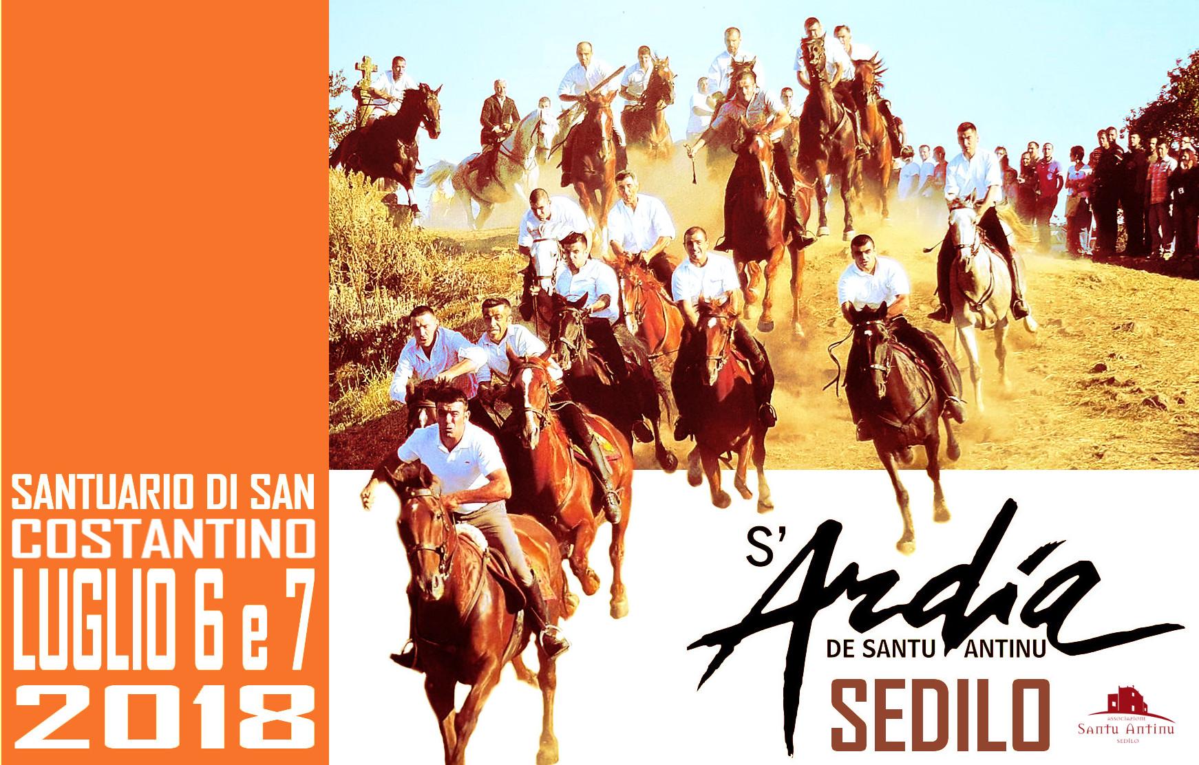 S'Ardia 2018   Poster design  2018