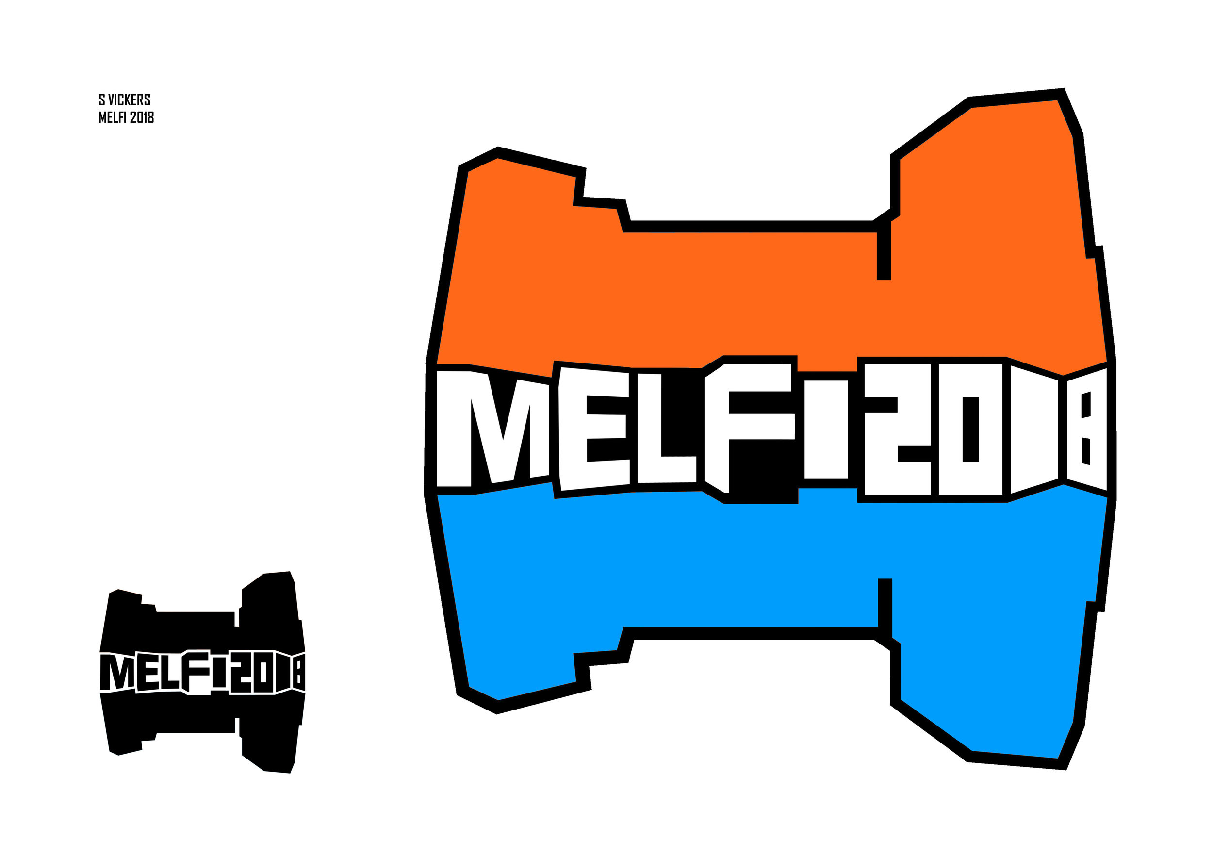 Melfi 1000   Logo design  2018