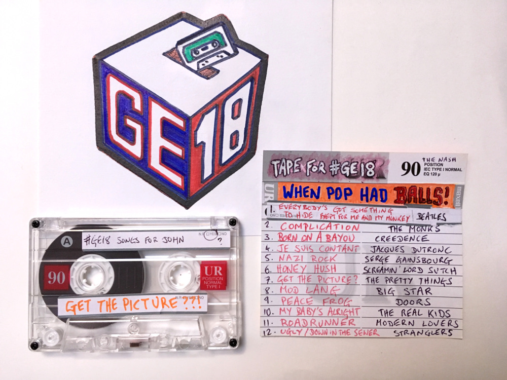 #GE18     Cassette tape/collaboration  2018