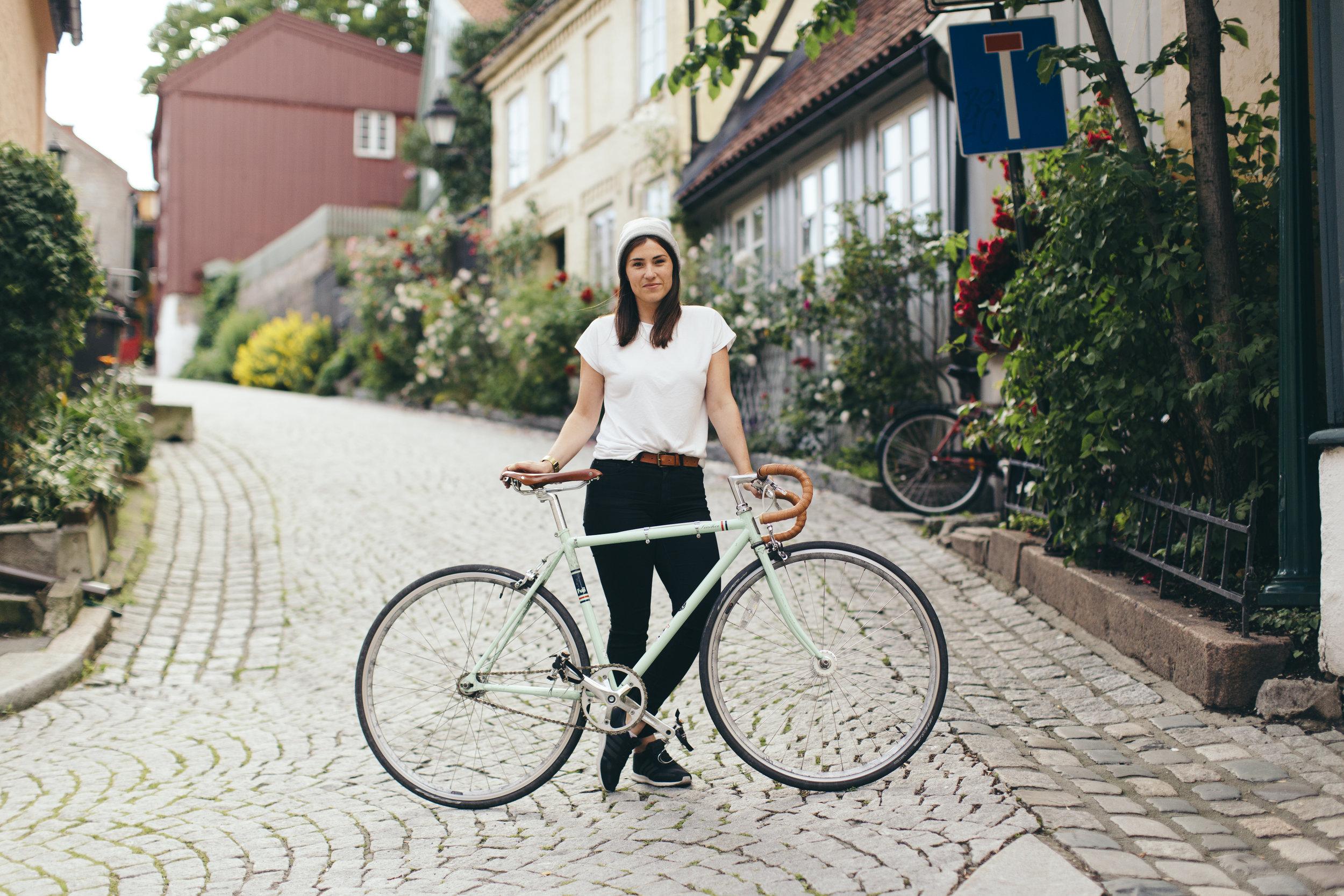 Mari Oshaug. Foto: Andris Søndrol Visdal.