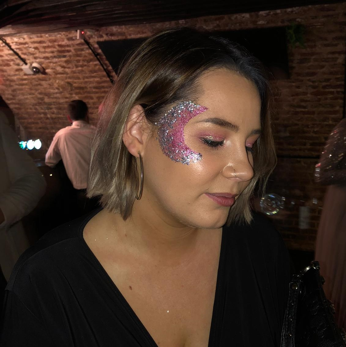 eco glitter moon makeover makeup
