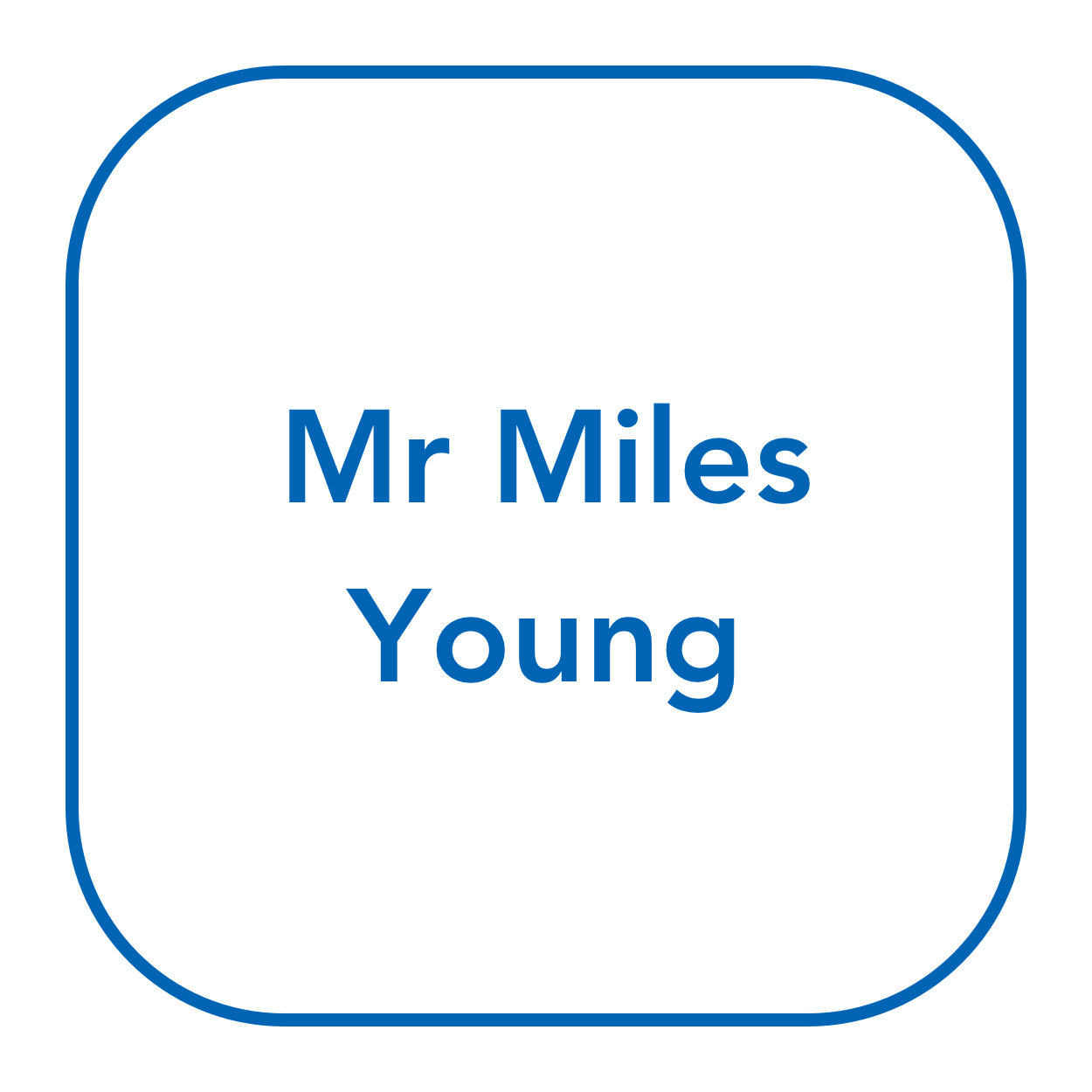 Mr Miles Young