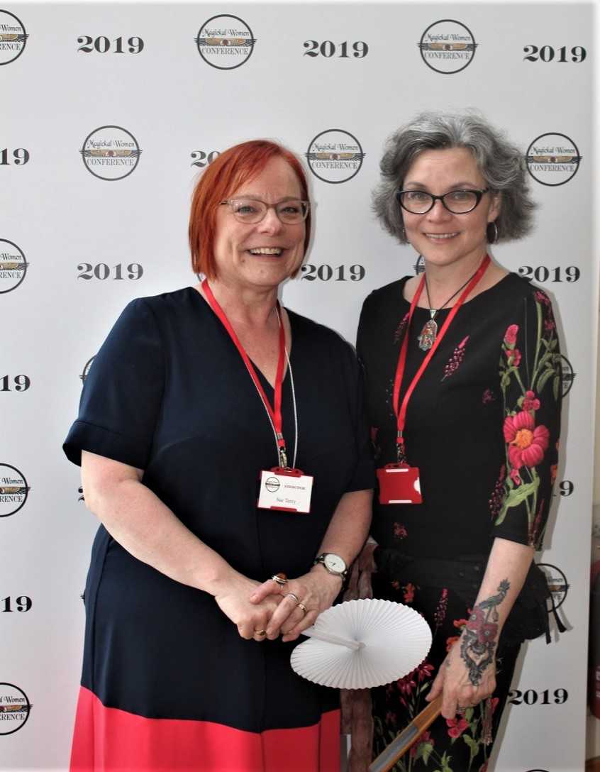 Sue Terry & Erzebet Barthold, Conference Directors.