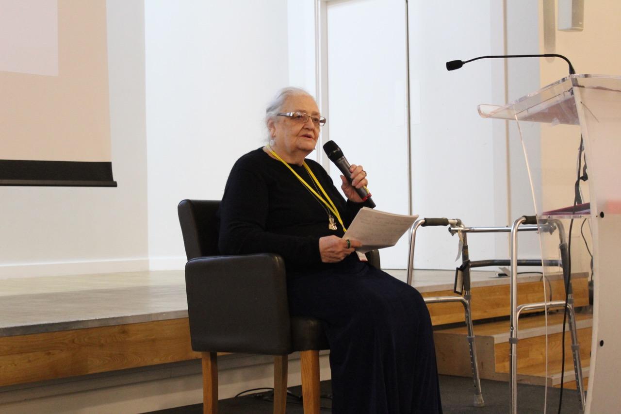 Headline speaker Dolores Ashcroft-Nowicki.