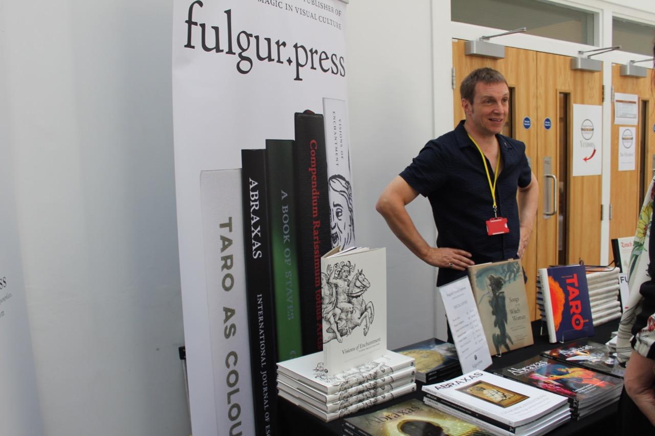 Robert Ansell of Fulgur Press.