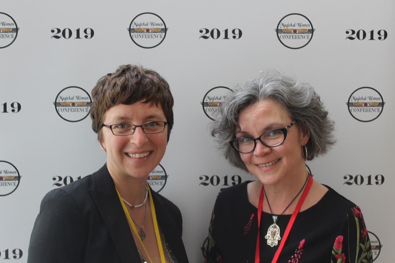 Jenn Zahrt of Revelore Press with director Erzebet Barthold.