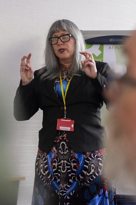 Speaker Amy Hale. Photo © Sara Hannant.