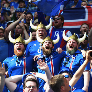 Iceland fans @Gallo Images