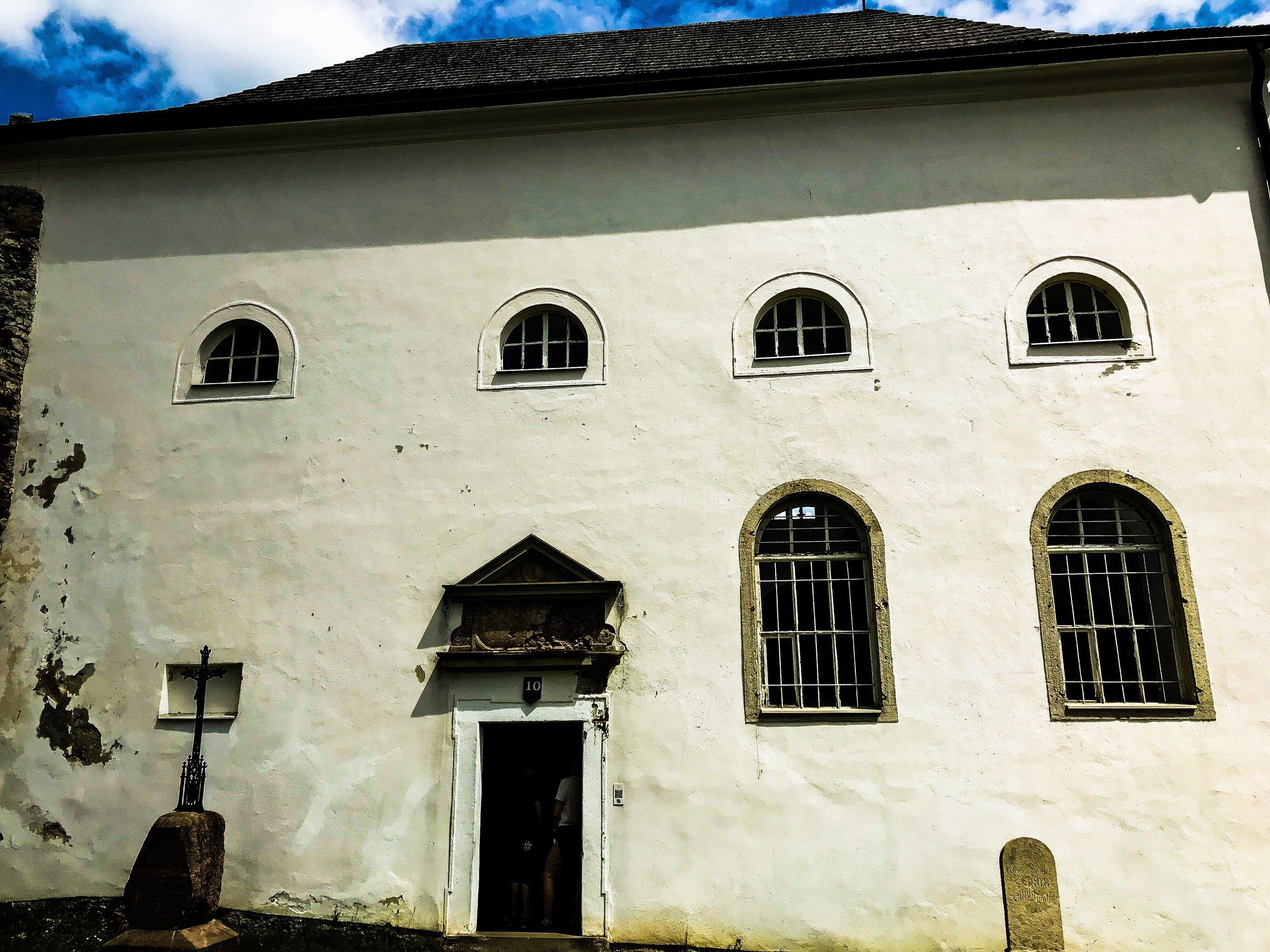 Chapel of Stará Lubovňa castle