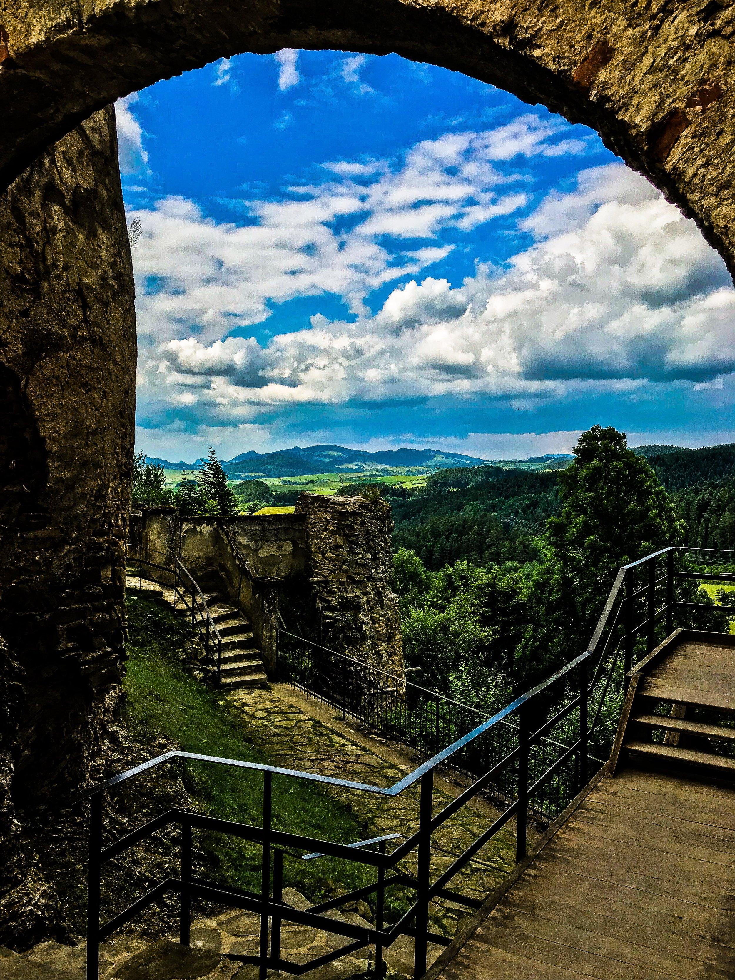 View from Stará Lubovňa castle
