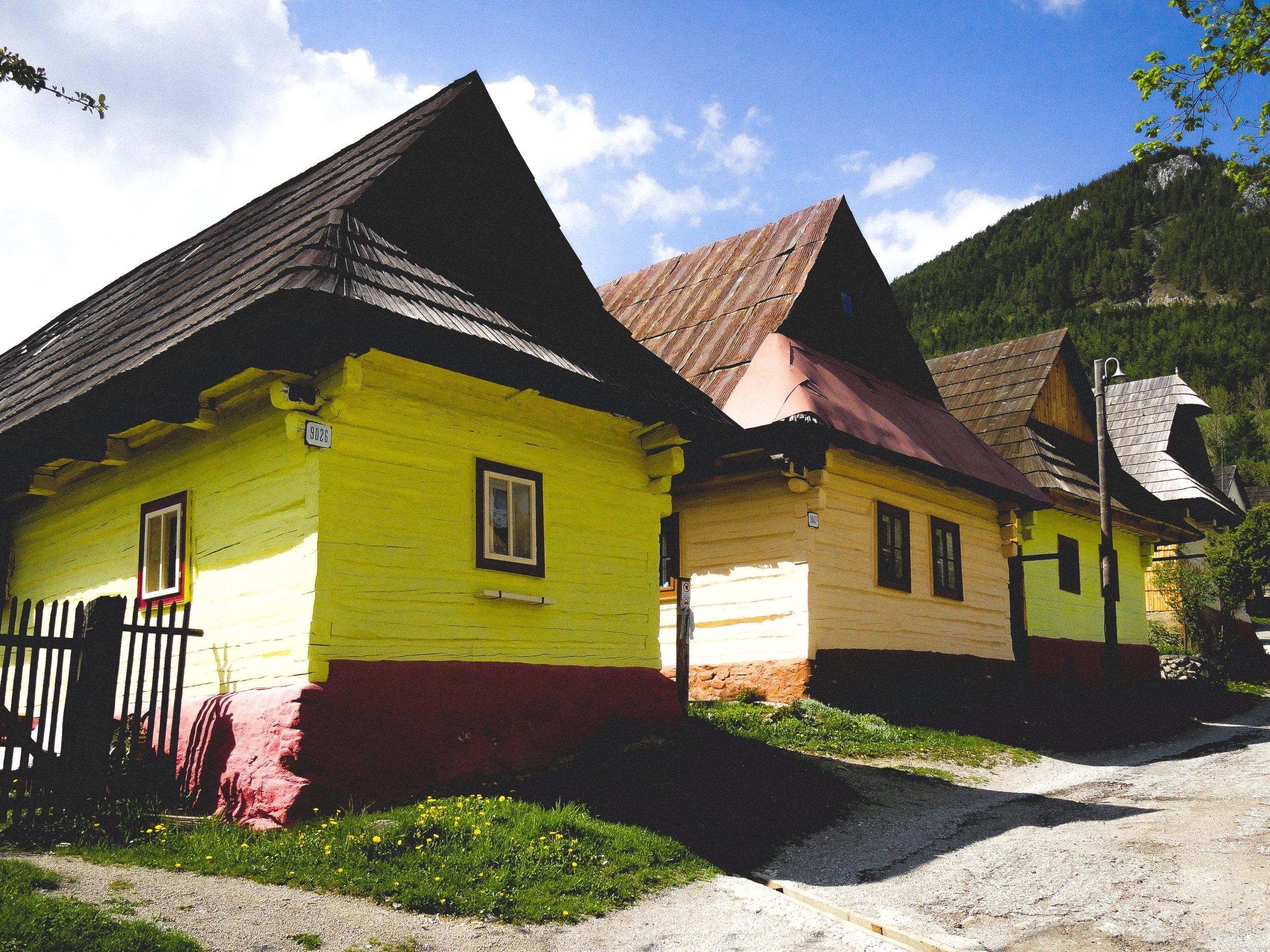 ČIČMANY AND VLKOLÍNEC - UNESCO WONDERS -