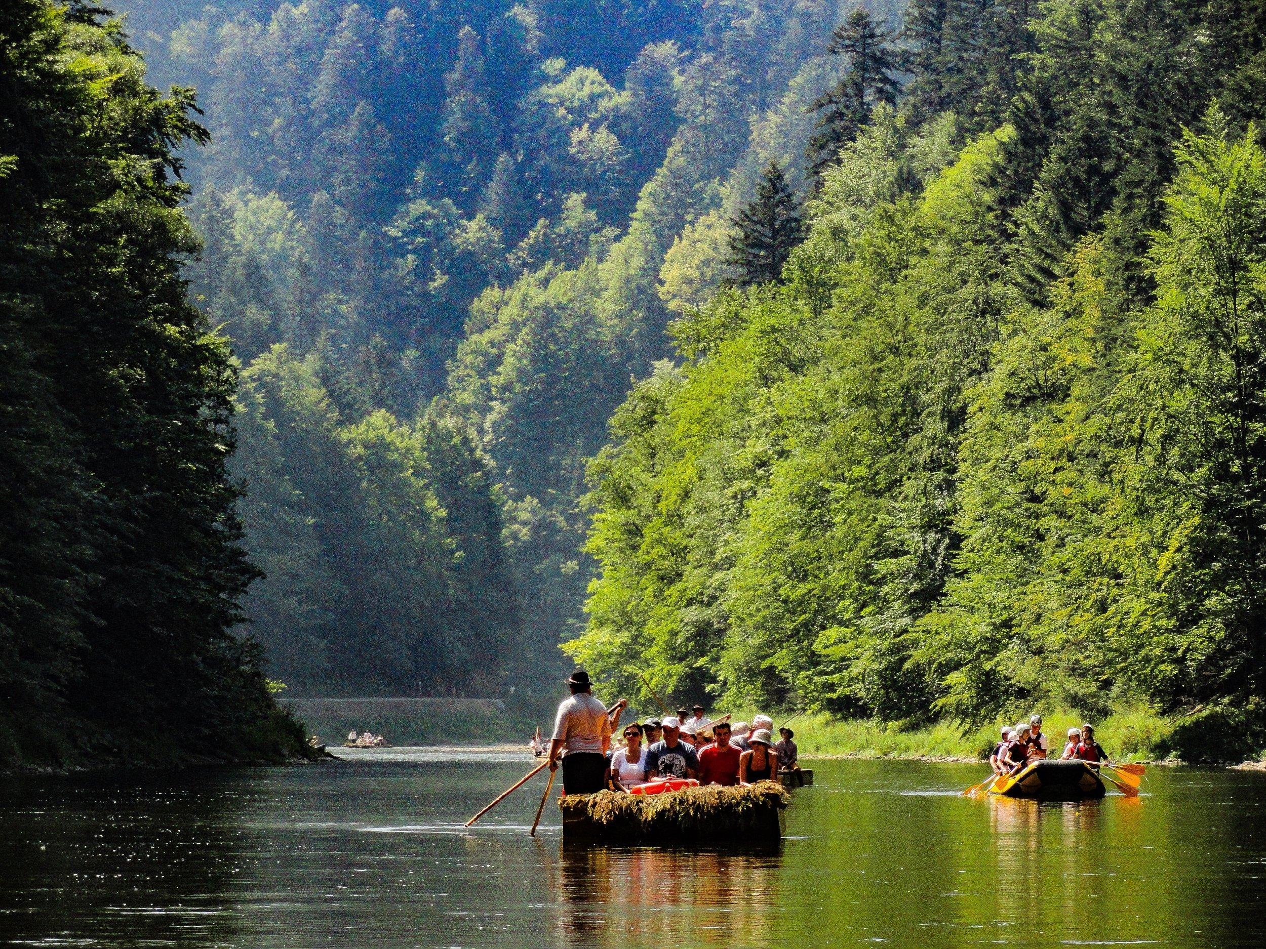 Červený Kláštor and the Pieniny National Park -