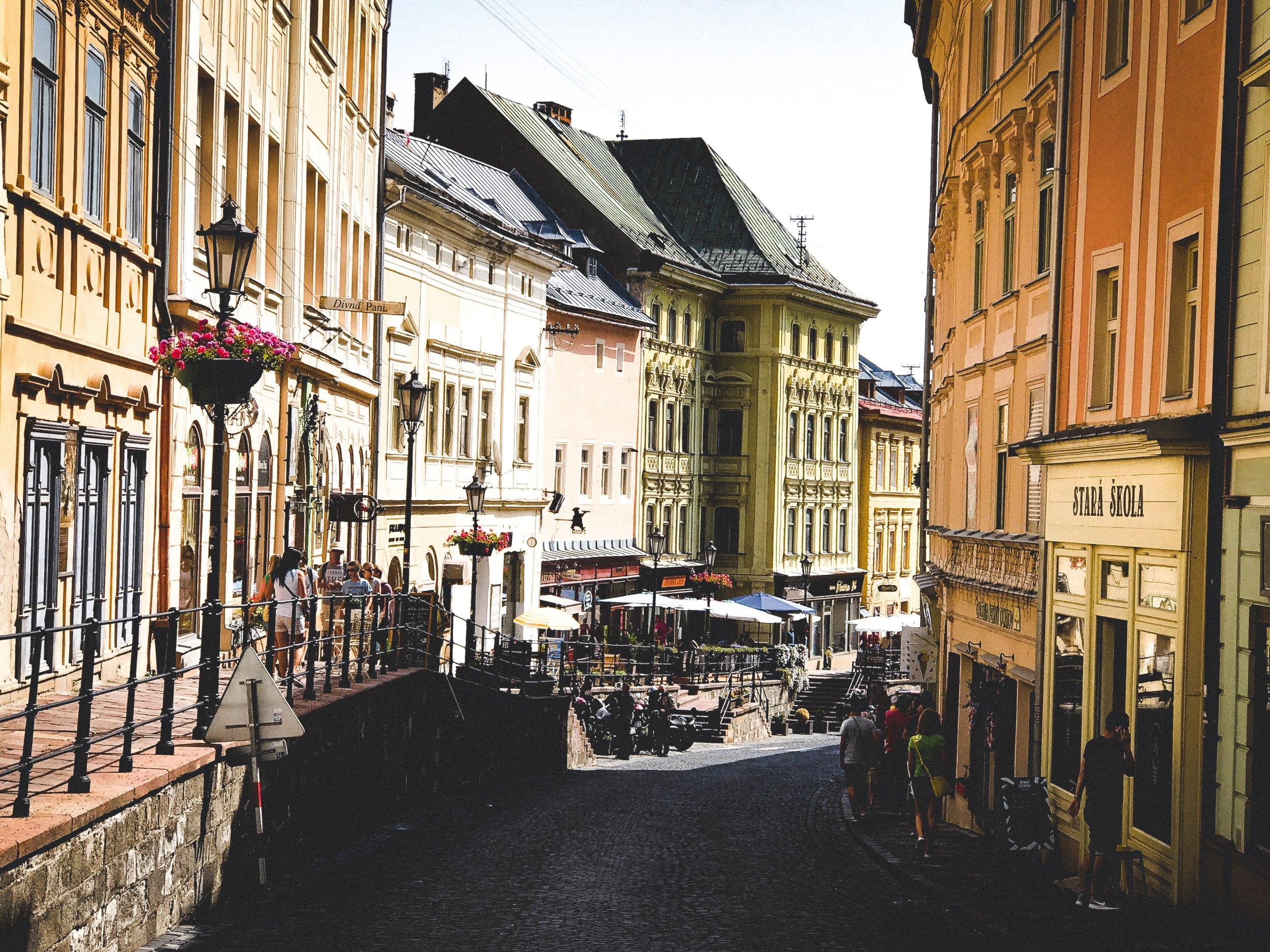 Banská Štiavnica in all its beauty -