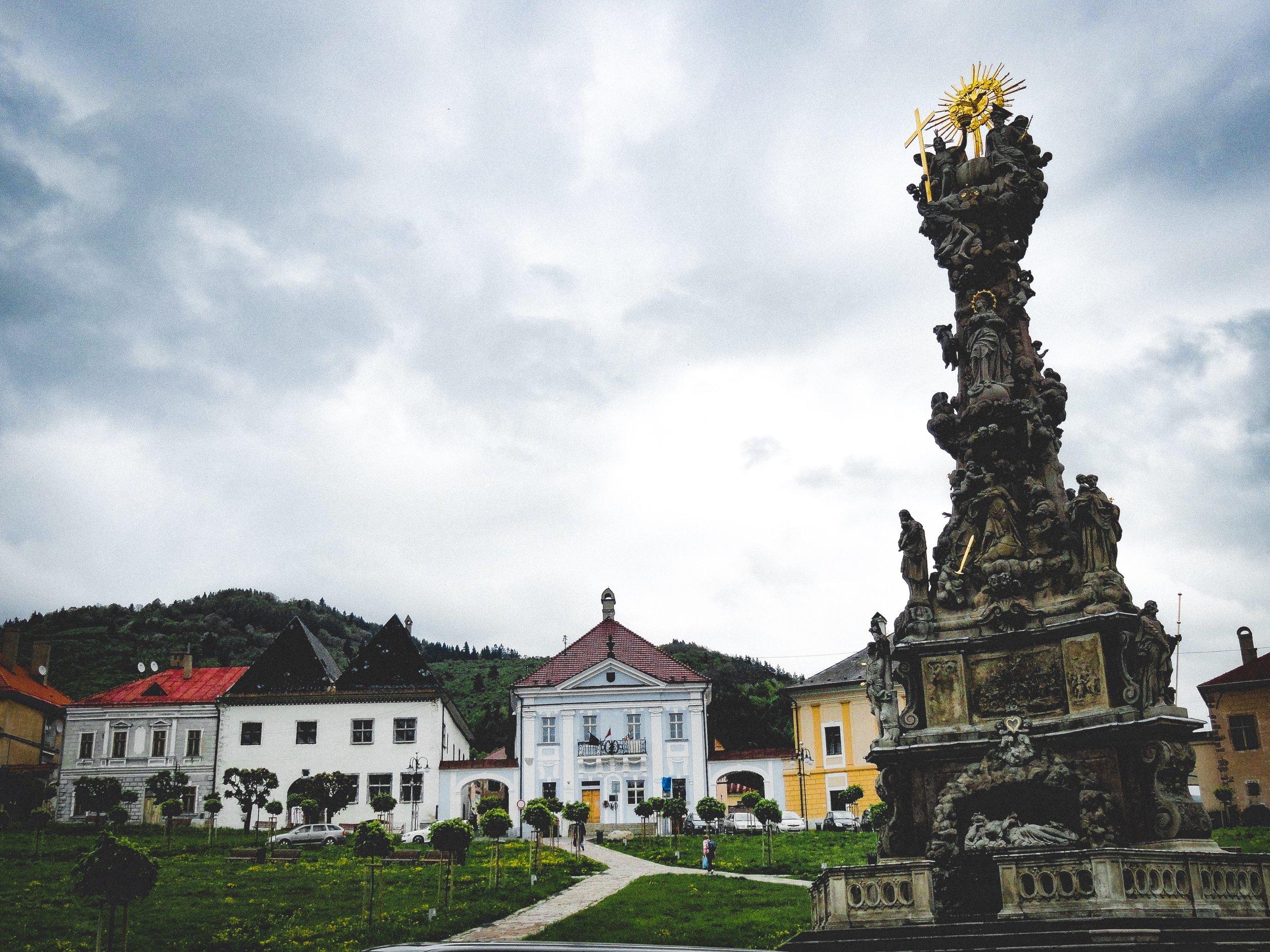 The golden city of Kremnica -