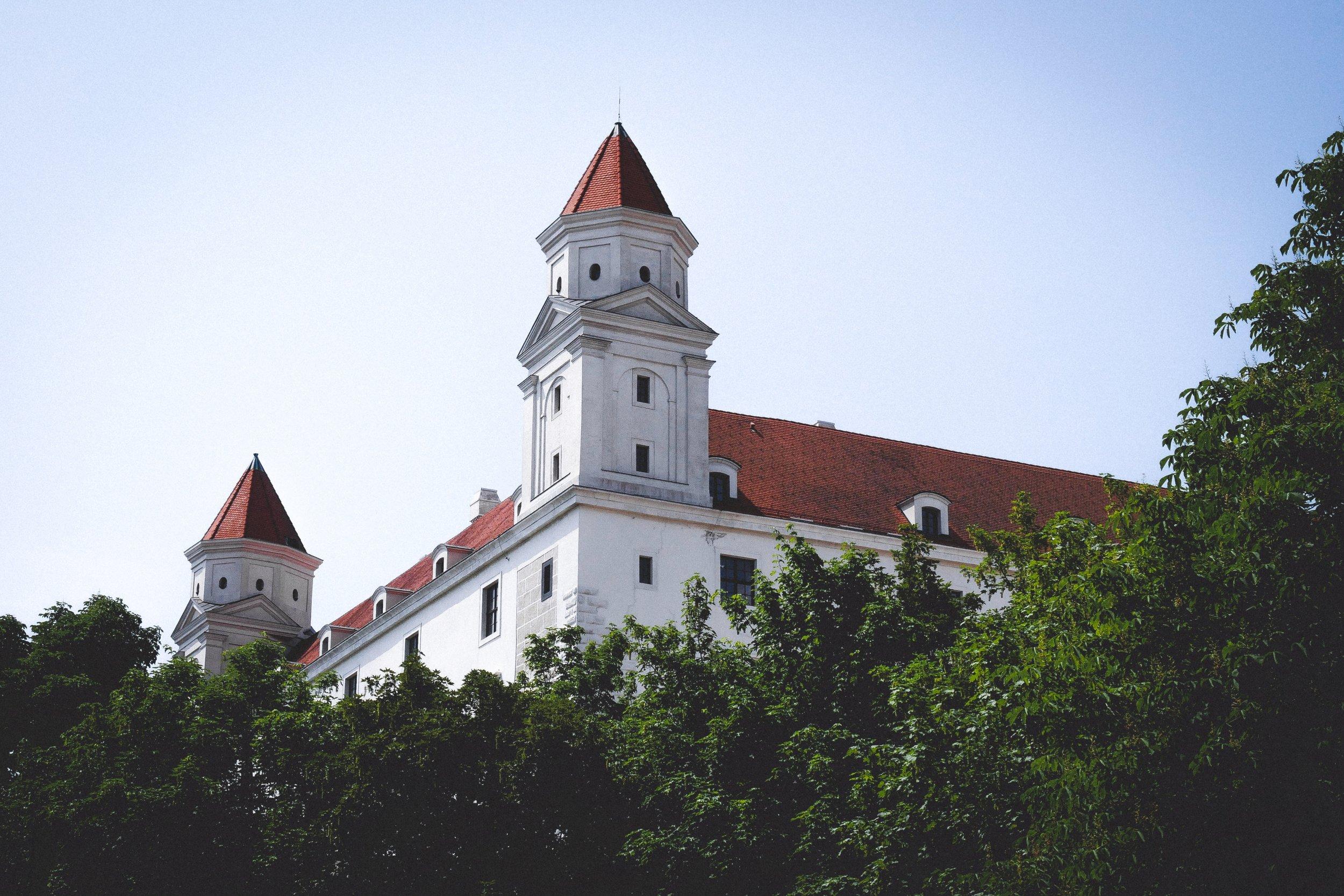 A walk through Bratislava in the summer -
