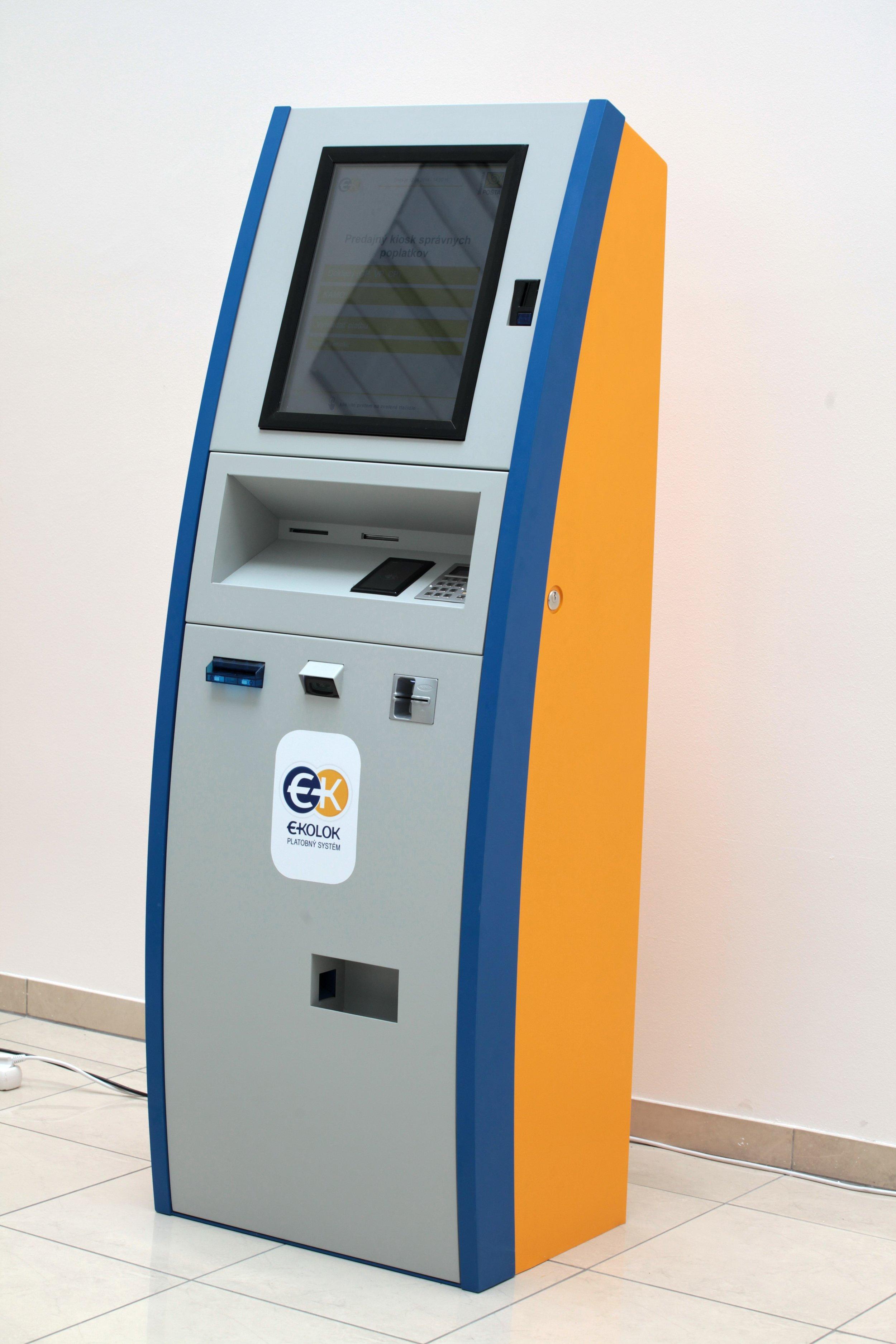 This is how the  e-Kolok kiosk  looks like
