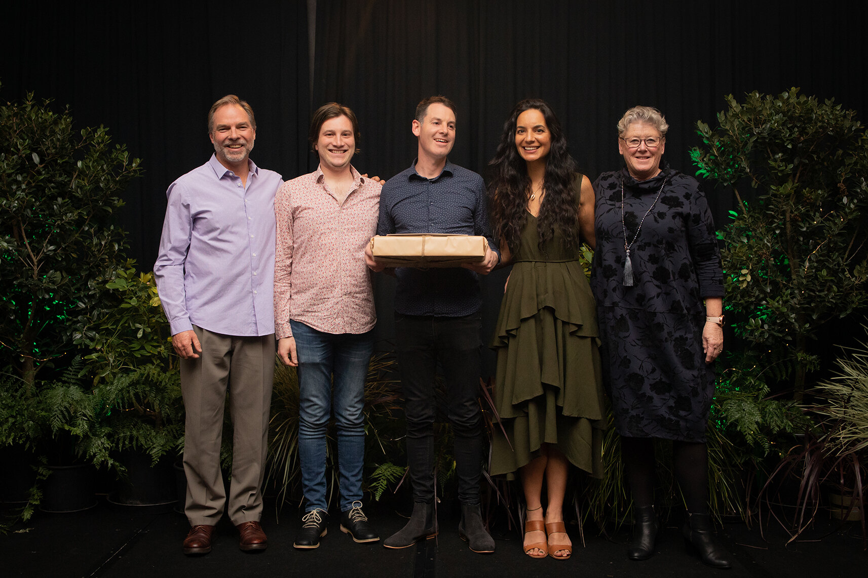 Shannon and Sanson Carts for Best Marketing Initiative (2nd Place 2019) - From left to right: Director Jol Glover, Hamish Terry & Michael Tuttiett, Marketing Contractor Stace Cottrill and Director Donna Ferrall.