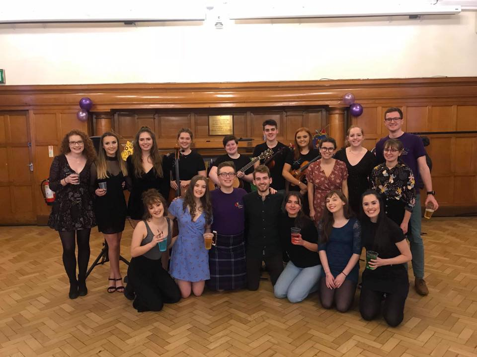 SKIP Glasgow committee at their Ceilidh fundraiser