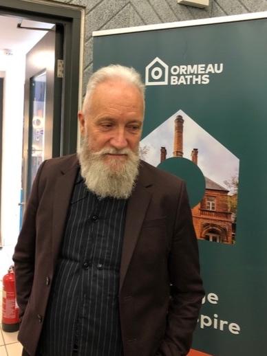 Prof Paul Moore, Director of Future Screens NI