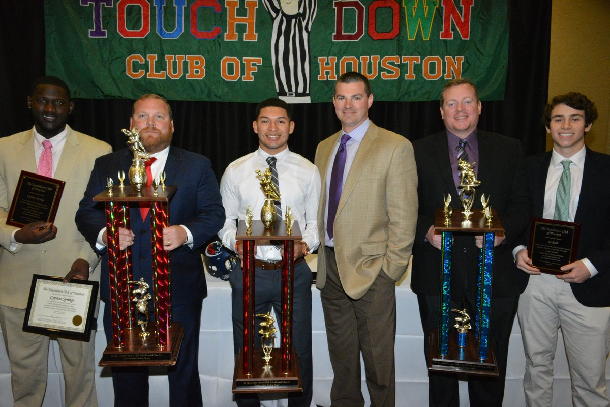 Cy Springs places first and attends the luncheon for sportsmanship. (Photo by TD Club)