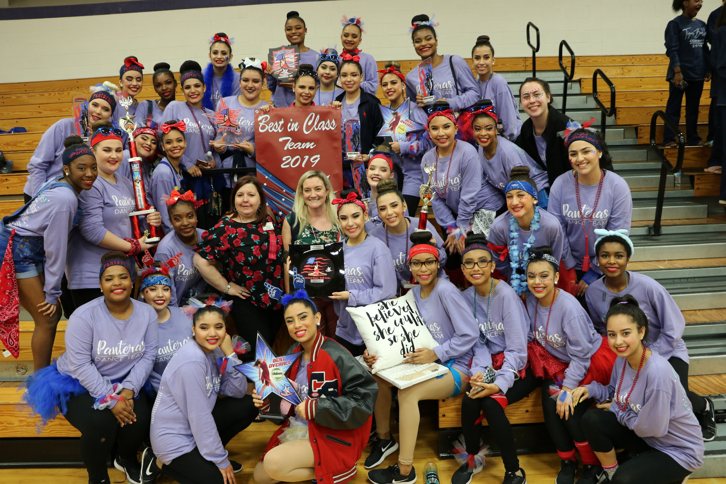 Panteras earn hardware after first-place finish.. (Photo by Panteras)