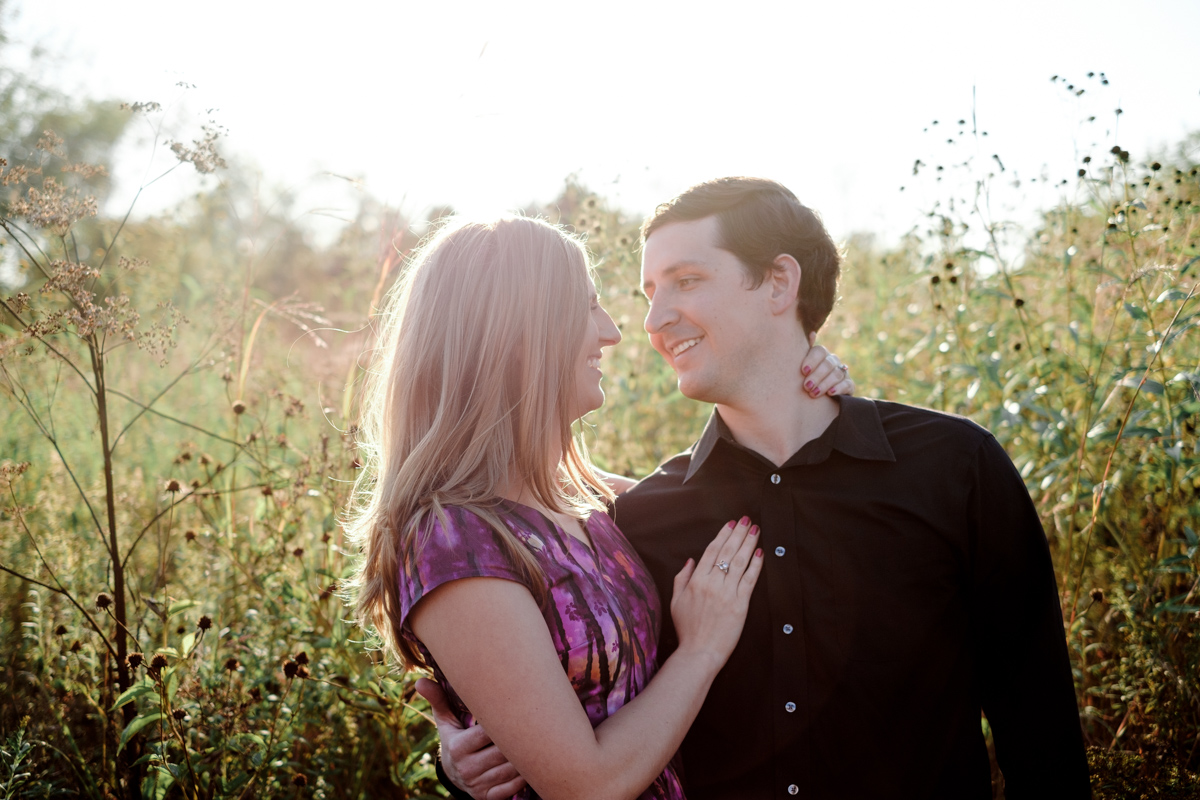 Fall Orchard Ridge Farms engagement session