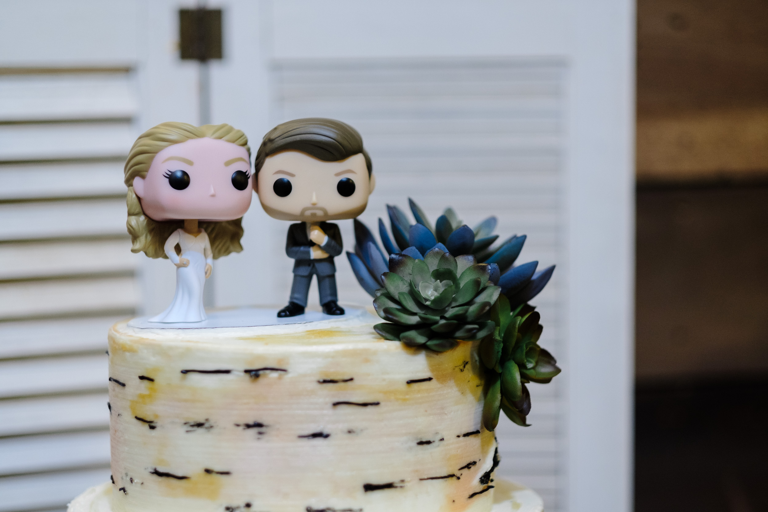 funko pop cake topper bride and groom