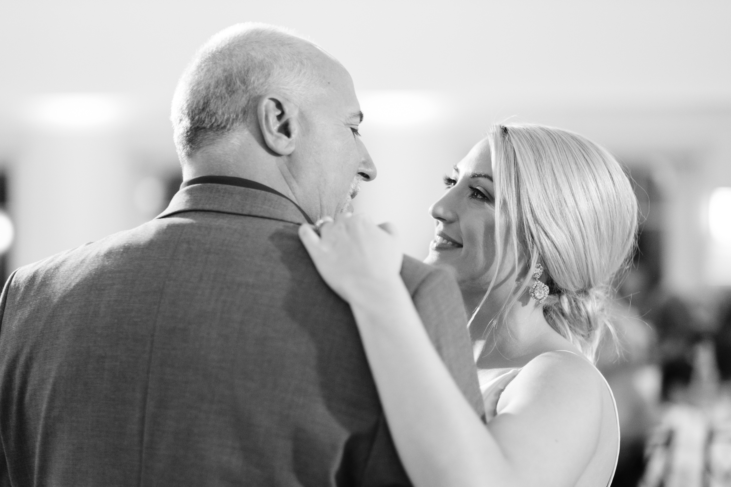 black and white father daughter dance