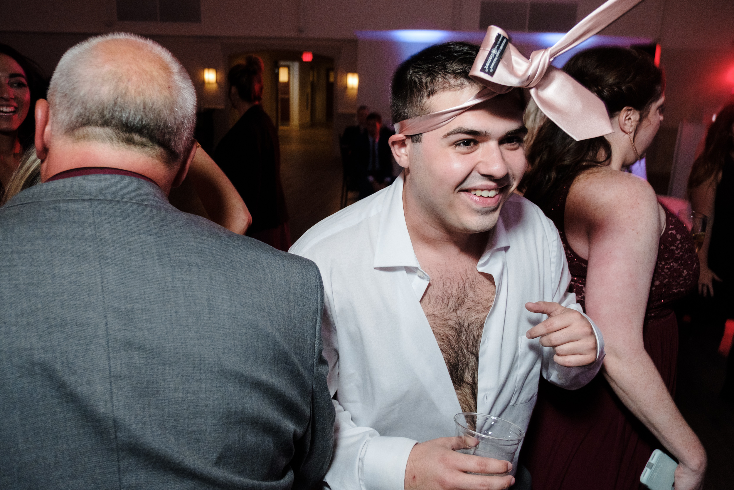 photographing the fun moments of your wedding reception