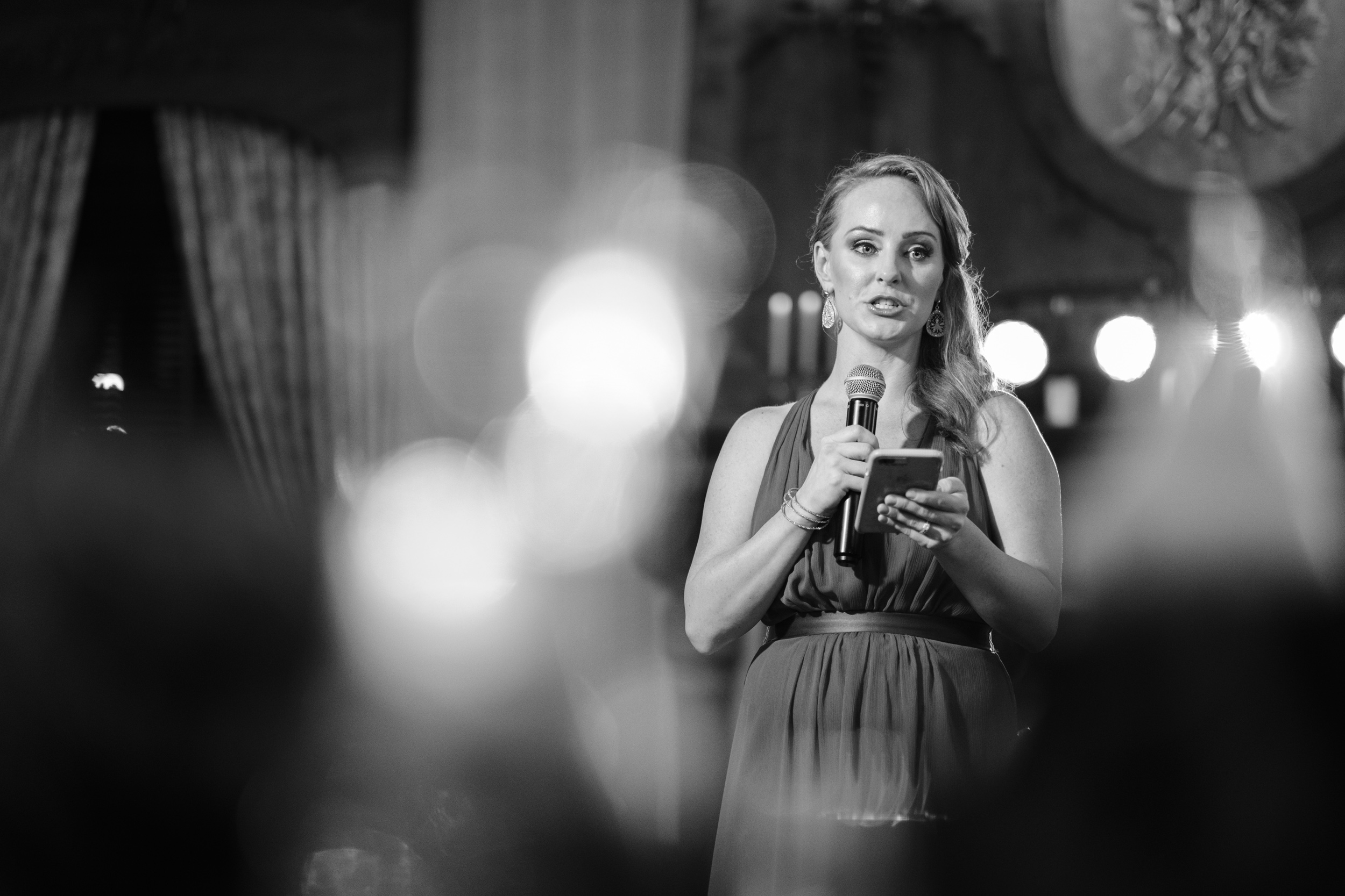 Maid of honor speech with tears and lots of love