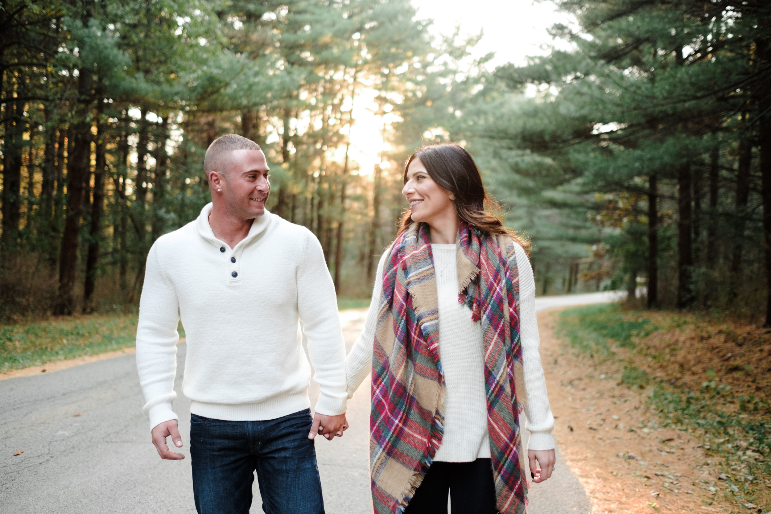 fun, genuine engagement photography in Machesney Park, iL