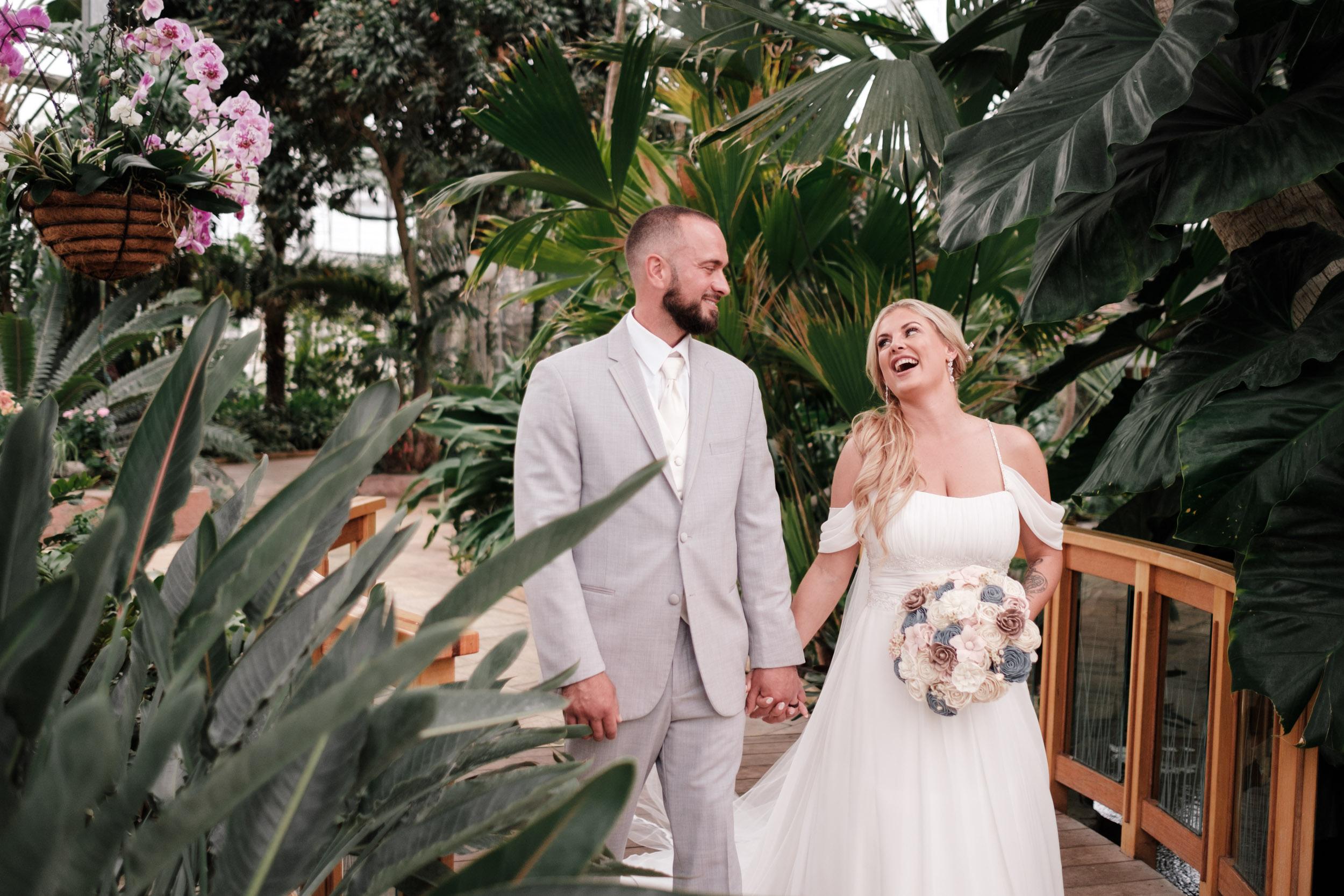 Nicholas Conservatory Rockford Wedding2