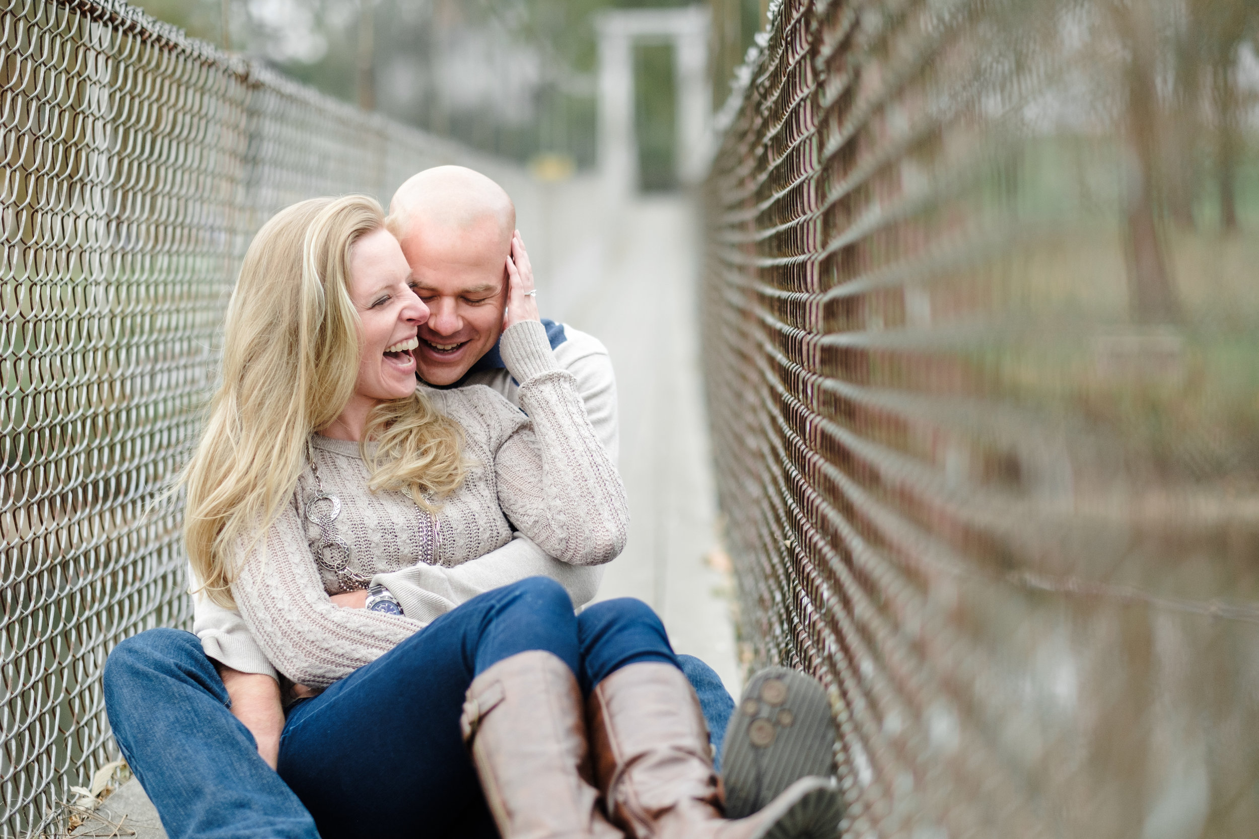 unique engagement session