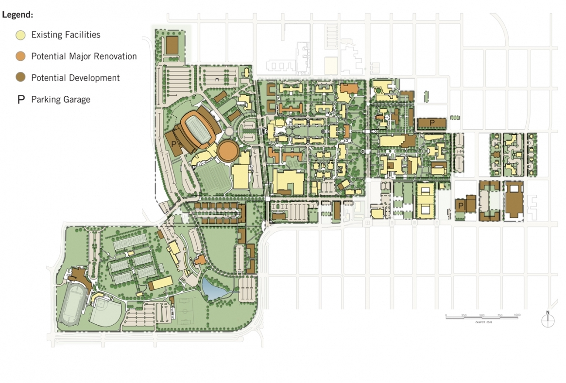2020 Campus Plan: Click plan to zoom