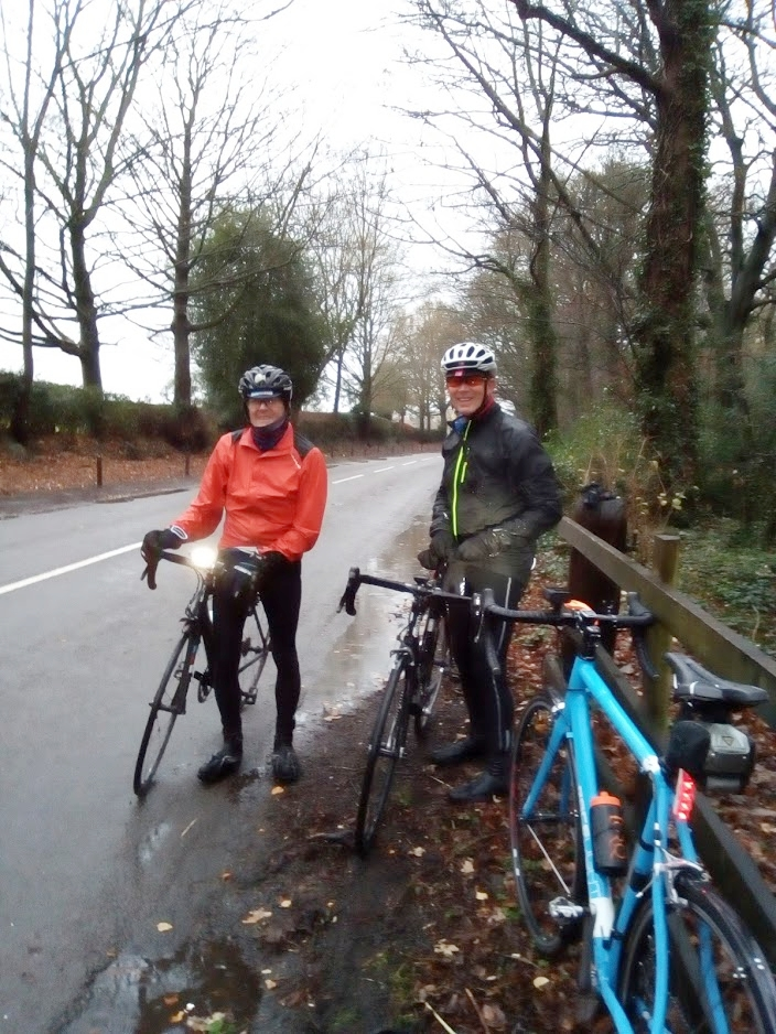 L to R: Dave, Moray, my bike