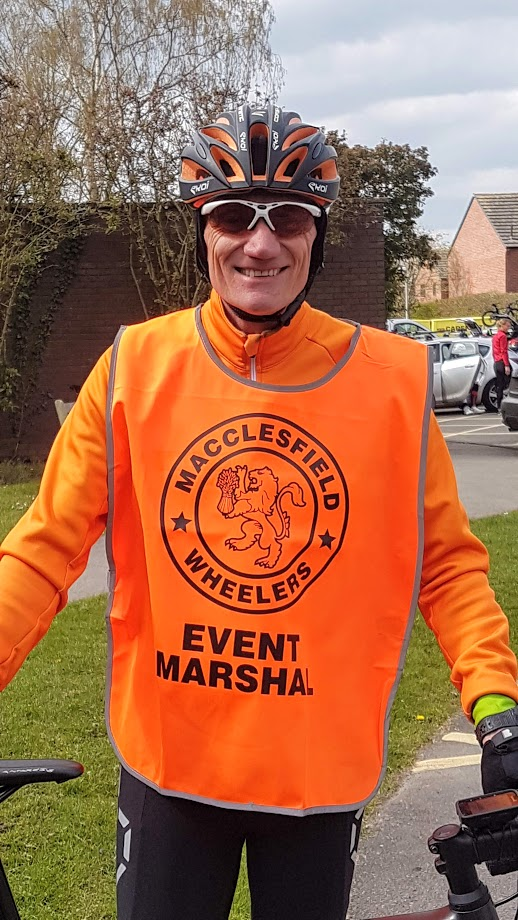 Macclesfield Wheeler Event Marshal Nigel