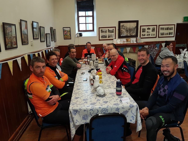 Clockwise from bottom left: Christian, Russell, Craig, Rob, Simon, Ian, Simon, Rob, Tim, Jochen, Mark, Bennet.