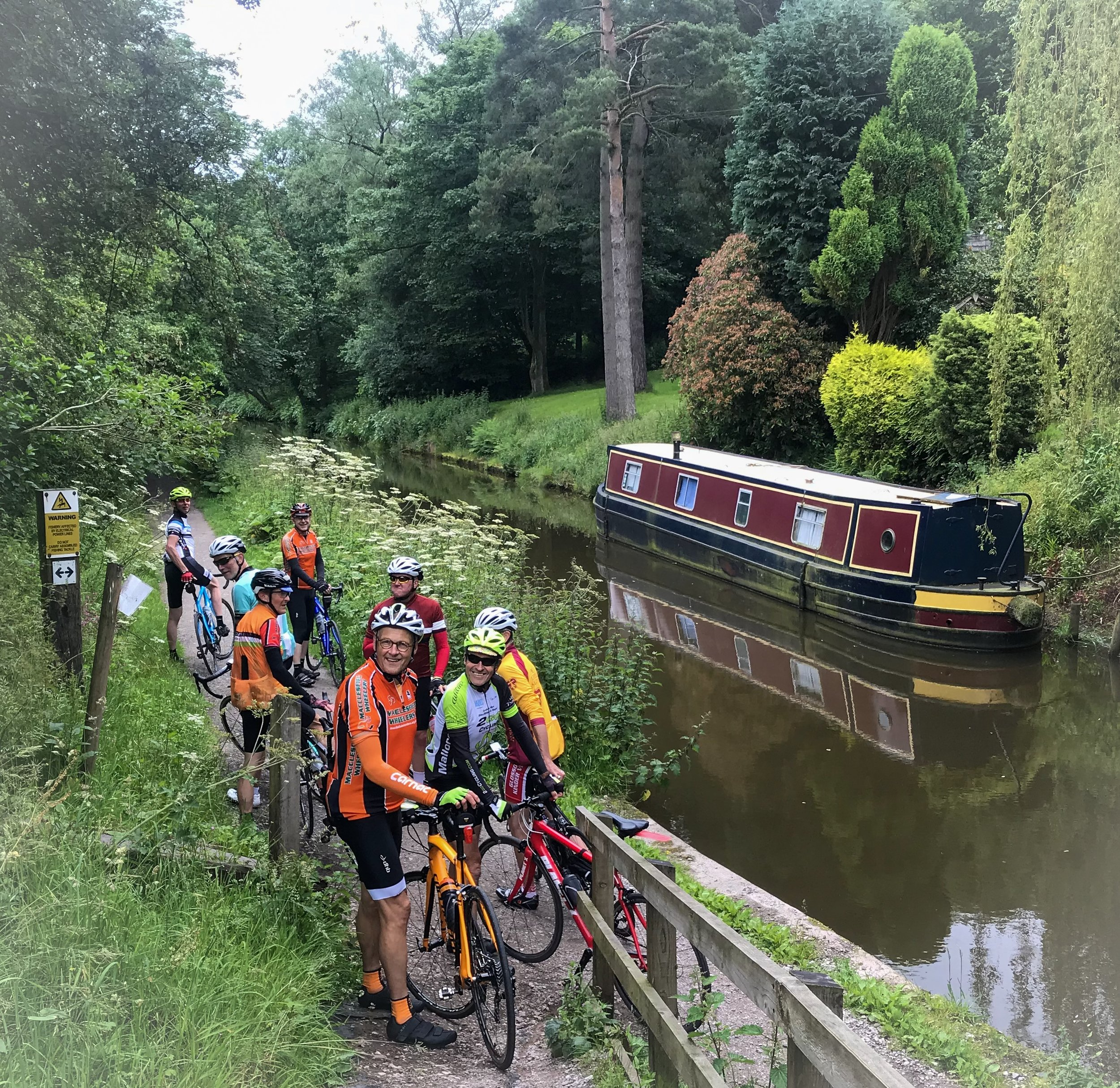 Mile 15.5. Return to Caldon Canal.