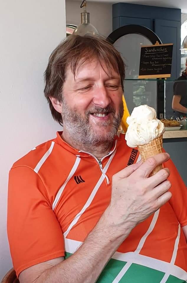 Happiness is….an ice cream!