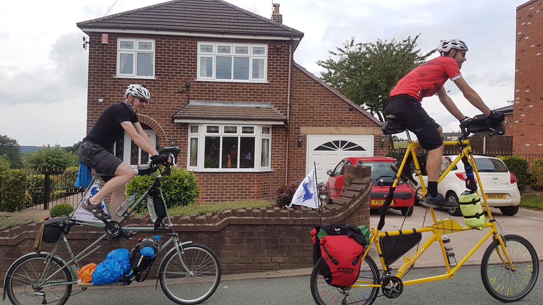 And yes, they are heading for Mow Cop.