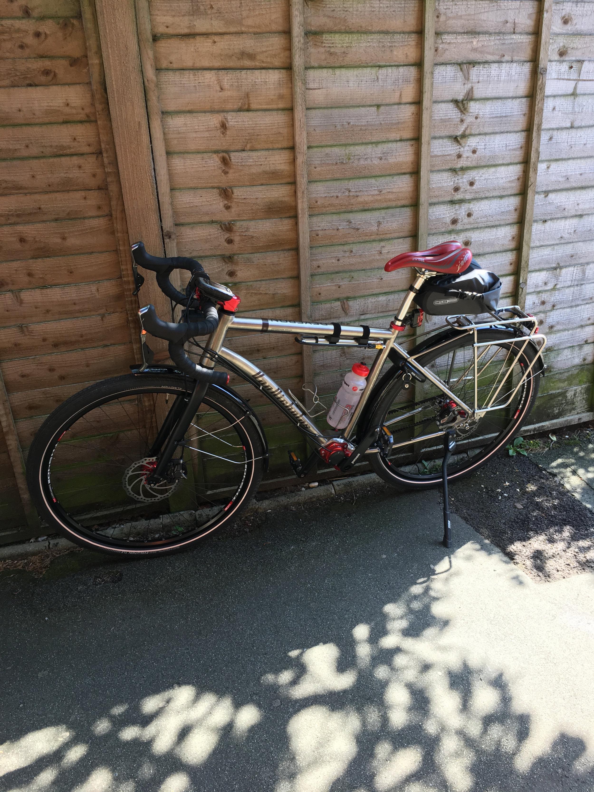 Simon's bike.